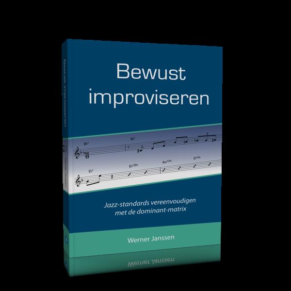 3D-Cover Werner - Bewust improviseren v2